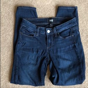 Paige Verdugo Cropped Jeans Size 26